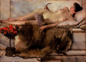 Tepidarium by Sir Lawrence Alma-Tadema (1836-1912)